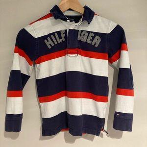 ⭐️Sale⭐️🐝2/$30 TOMMY HILFIGER Long sleeve poloS/P